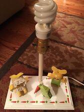 Vintage*Judi's Original*Musical Nursery/Children's Lamp Plays Its A Small World)