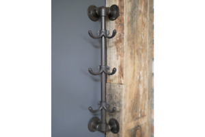 Corner Mounted Cast Iron Coat Hooks