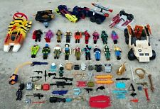 Huge Lot of Vintage 1980's GI Joe Action Figures, Vehicles, Animals and Weapons!
