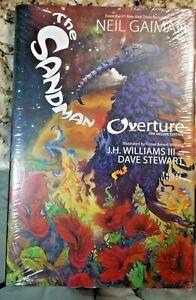 The Sandman Overture, Deluxe Edition, by Neil Gaiman, Vertigo, Brand New, sealed