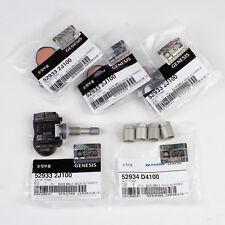 Genuine OEM Hyundai Kia TPMS Tire Pressure Sensor Valve 52933-2J100 (4 PC) w/NUT
