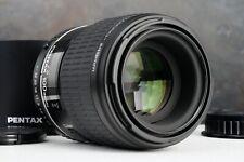 :SMC Pentax D FA 100mm f2.8 Macro AF (Non-WR) Lens w/ Hood (Read)