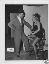Gloria De Haven leggy Roy Rowland VINTAGE Photo