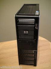 HP Z600 12 core 2x Xeon X5670 48GB 256GB SSD 500GB HDD Quadro 5000 USB 3.0 Win 7