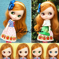 Shop Limited Takara CWC Neo Blythe Doll Strawberries 'n Creamy Cute