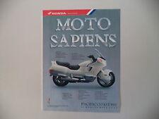 advertising Pubblicità 1989 MOTO HONDA PC PACIFIC COAST 800