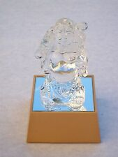 MAITREYA BUDDHA@Glass@LIGHT UP Gift@LAUGHING BUDDHA Figure@Unique Religious ICON