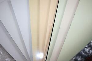 Weiß Pickguard Rohling einlagig Schlagbrett Gitarre  ca 45x29,5x0,23 cm scratch