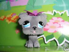 Littlest pet shop Special Edition gray Scottie Dog 1006