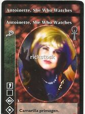 Antoinette, She Who Watches x2 Toreador BSC Jyhad VTES