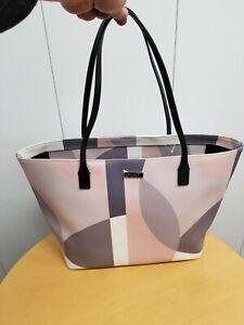 Kate Spade Pink Champagne Large Tote Bag PurseShoulder