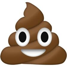 Emoji Poo Stickers ( LARGE ) BUY 1 GET 1 FREE - FREE POSTAGE