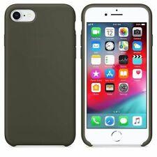 Funda silicona iPhone 7/8 textura suave  Verde