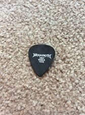 Megadeth James Lomenzo 2007 Tour Guitar Pick