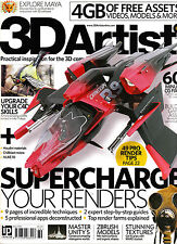 3D ARTIST #89 Supercharge Your Renders EXPLORE MAYA + 4GG of FREE ASSETS @NEW@