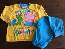 Boys George Pig Peppa Pig Pyjamas Age 3-4 Years Unisex