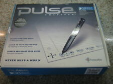 New Pulse Digital SmartPen Livescribe 2G USB Students Never Miss A Word
