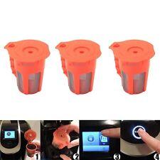 3 Pack K-cups K Carafe Reusable K Cup Filter for Keurig 2.0  K200 K250 K300 K350