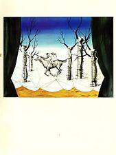 "1974 Vintage MAGRITTE ""THE LOST JOCKEY, LE JOCKEY PERDU"" COLOR offset Lithograph"