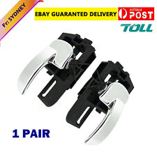 PAIR L+R DOOR HANDLE INNER Fit for NISSAN DUALIS J10 2007 - 2014 FRONT or REAR