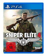 Sony PS4 Playstation 4 Spiel ***** Sniper Elite 4 *****************NEU*NEW*18*55