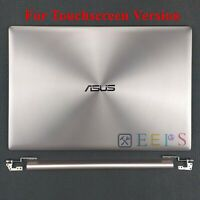 New ASUS UX303L UX303LA LCD Back Cover + Hinges + Hinges Cover For Touch-Screen