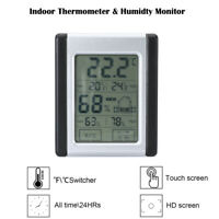 LCD Indoor Digital Thermometer Hygrometer Temperature Humidity Monitor Meter