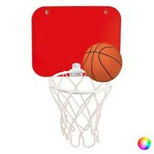 Panier de Basket avec ventouse et ballon - Jeu pour enfant Couleur - Rouge