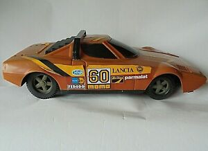 Lancia Stratos HF Big Plastic Toy 42 cm Long 1/12 Missing Rear Spoiler
