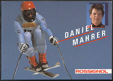 Winter Sports Postcard - Skiing - Skier Daniel Mahrer, Rossignol  A155