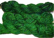 FREE S&H 100g Himalayan SILK Yarn Green mix color