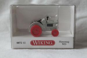 Wiking 0872 02 Traktor Hanomag WD achatgrau
