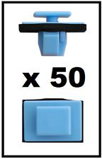 50 x Side Moulding Panel Clips and Trim Sill Fastener for HYUNDAI and KIA
