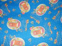 BTY Mary Engelbreit KEY to HAPPINESS Print 100% Cotton Quilt Craft Fabric Yard