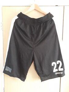 Mens Macron Basketball Shorts Black White Reversible Team Used Once XL