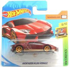 Lamborghini Aventador Miura Homage Hot Wheels Short Card Super Treasure Hunt STH
