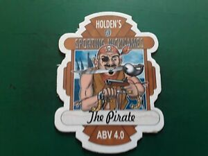 Beer pump clip tour de france HOLDEN'S brewery MARCO PANTANI (THE PIRATE)cycling