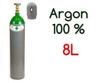 NEW 100% Argon Gas FULL Bottle Cylinder 8 Liter 200 Bar Pure Gas Welding