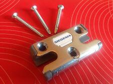 SI Siegenia 2040 S-RS Sicherheits-Schließblech Pilzkopf + Schrauben für Schüco