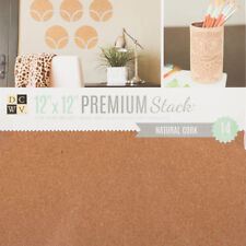 "American Crafts Die Cuts With A View 12"" x 12"" Mat Stack - Natural Cork Texture"