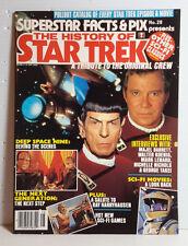 1993 History of Star Trek Magazine- Superstar Facts & Pix #28- UNREAD- FREE S&H