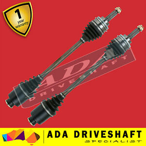 2 NEW FRONT CV JOINT DRIVE SHAFT TO SUIT SUBARU LIBERTY 00-07/04 ABS (PAIR)