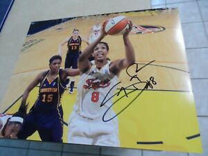 TAMMY SUTTON-BROWN SIGNED/AUTOGRAPHED 8X10 PHOTO INDIANA FEVER WNBA