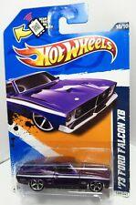 Hot Wheels HW 12 2012 Muscle Mania 1973 73 Australian Ford Falcon XB Purple