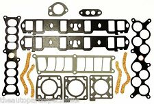 INLET/INTAKE MANIFOLD GASKET SET INC PLENUM-FORD FAIRLANE NC NF NL 5.0L WINDSOR