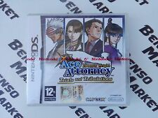 PHOENIX WRIGHT ACE ATTORNEY TRIALS AND TRIBULATIONS NINTENDO DS ITALIANO * NUOVO