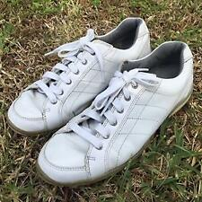 FOOTJOY WOMEN'S LOPRO CASUAL GOLF SHOES WHITE Leather Spikeless  #97065 $110 8.5