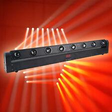 Cree 10W quad sweeper beam  LED-8 eye moving  bar beam stage club light