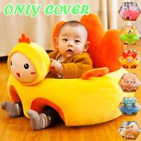 Kids Cute Animals Baby Sofa  Soft Crystal Fleece Children Seat Chair
