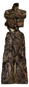 Field and Stream Youths Insulated Bib Overalls Jacket Bibs XL real tree Camo